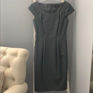 Tahari suit style pleated dress